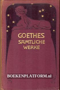 Goethes Sämtliche Werke 30