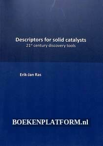Descriptors for solid catalysts
