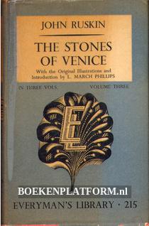 The Stones of Venice Vol. 3