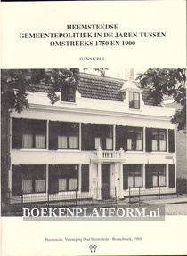 Heemsteedse gemeentepolitiek tussen 1750 en 1900
