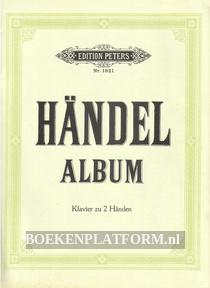 Händel album Edition Peters nr. 1821