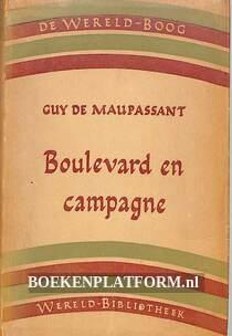 Boulevard en campagne