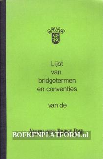 Lijst van bridgetermen en conventies