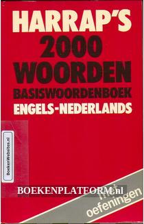 Harrap's 2000 woorden Engels-Nederlands