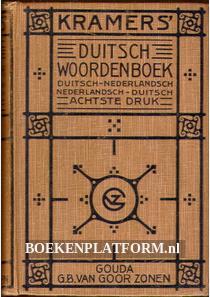 Kramers Duitsch woordenboek