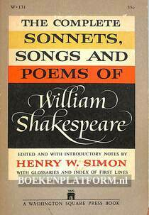 The Complete Sonnets, Songs and Poems of William Shakespeare