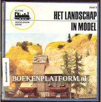 Het landschap in model