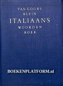 Van Goor's klein Italiaans woordenboek I-N / N-I