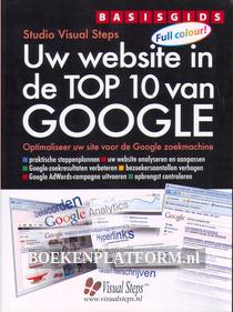 Uw website in de Top 10 van Google