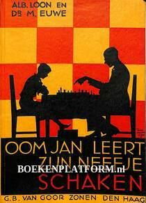Oom Jan leert zijn neefje schaken