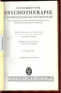 Zeitschrift fur Psychotherapie und Medizinische Psychologie 1964