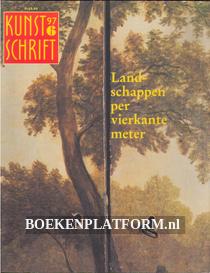 Landschappen per vierkante meter