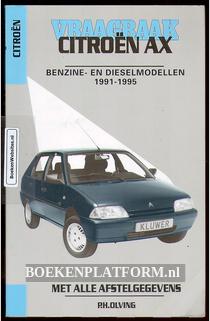 Vraagbaak Citroen AX benzine- en dieselmodellen 1991-1995