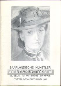 Saarländische Kunstler um Mia Münster