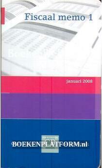 Fiscaal memo 1 2008