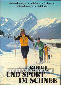 Spiel und Sport im Schnee