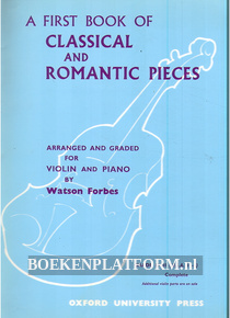 A First Book of Classical and Romantic Pieces