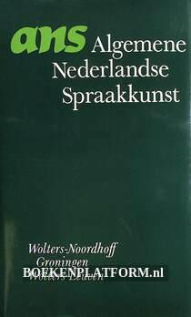 ANS, Algemene Nederlandse Spraakkunst