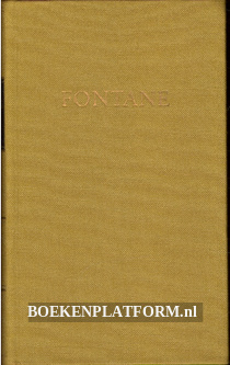 Fontanes Werke 1