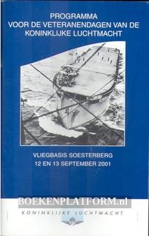Programma voor de veteranendagen van de Koninklijke Luchtmacht