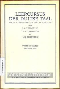 Leercursus der Duitse taal II