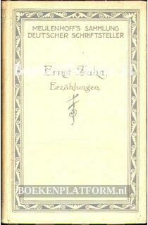 Erzählungen von Ernst Zahn