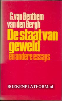 De staat van geweld en ander essays