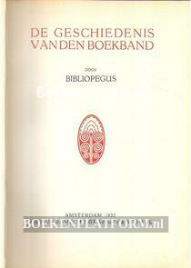 De geschiedenis van den Boekband