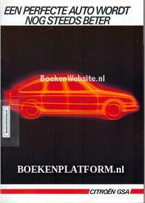 Citroen GSA 1985 brochure