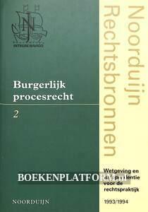 Burgerlijk procesrecht 2