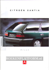 Citroen Xantia Break 1995 brochure