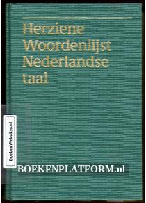 Herziene Woordenlijst Nederlandse taal