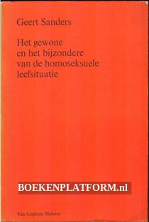 De homoseksuele leefsituatie