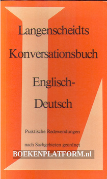 Konversationsbuch English-Deutsch
