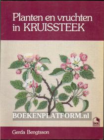 Planten en vruchten in kruissteek