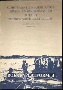 Schets van de Nederlandse rivier- en binnenvisserij