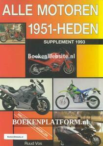 Alle motoren 1951-heden supplement 1993