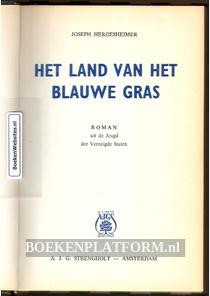 Het land van het blauwe gras