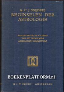 Beginselen der Astrologie