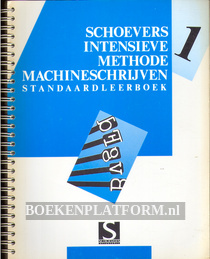 Schoevers intensieve methode machineschrijven 1