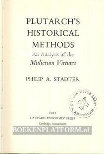 Plutarch's Historical Methods