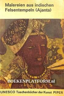 Malereien aus indischen Felsentempeln (Ajanta)