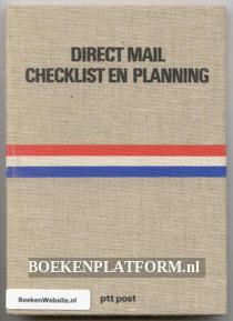 Direct Mail Checklist en Planning