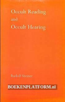Occult Reading and Occult Hearing