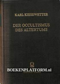 Die Occultismus des Altertums
