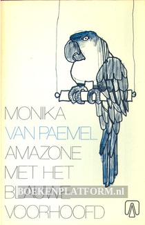 Amazone met het blauwe voorhoofd