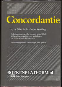 Concordantie op de Bijbel in de nieuwe vertaling