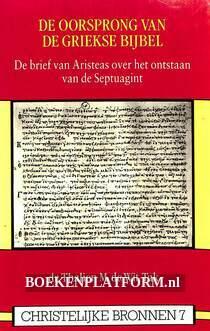 De oorsprong van de Griekse bijbel