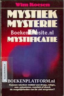 Mystiek, mysterie en mystificatie