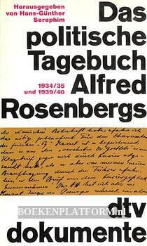 Das politische Tagebuch Alfred Rosenbergs